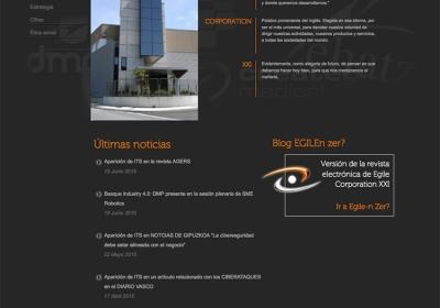 Página web corporativa