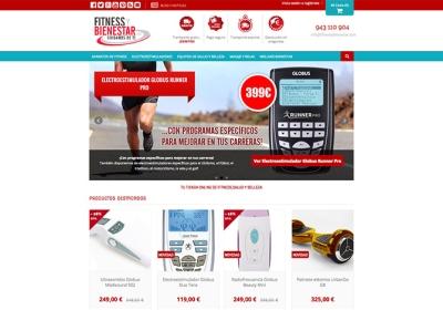 Diseño y desarrollo de tienda online productos de fitness