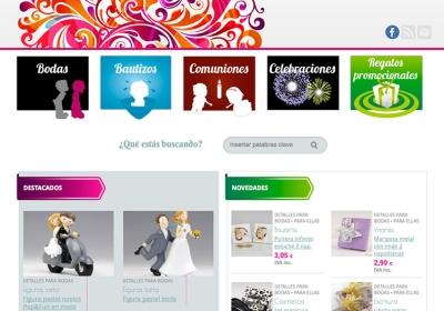 Tienda online de venta de detalles de boda