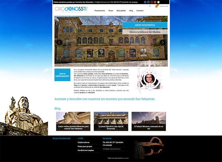 Tienda online de reserva de rutas turísticas